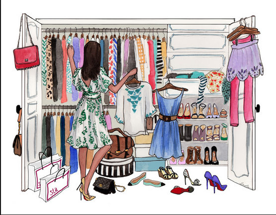 Spring Cleaning – closet style - Cindy's Garden