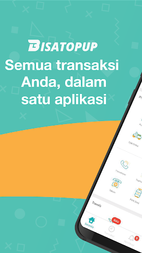Bisatopup Terbaru - Beli Pulsa, Paket Data, Token 5.3.0 screenshots 1