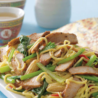 Thai Pork and Noodle Salad.