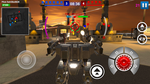 Mech Wars  captures d'écran 5
