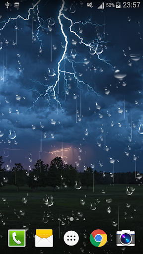 Thunder Storm Live Wallpaper screenshot 5