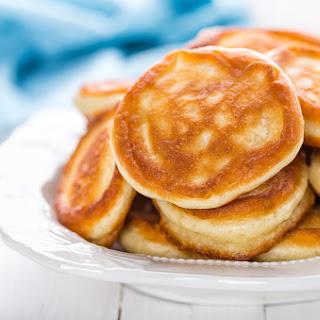 Easy Oatmeal Pancakes.