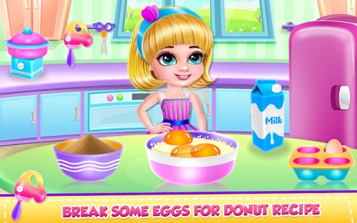 Ice Cream Donuts Cooking for PC