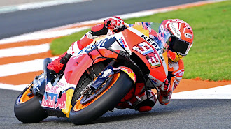Márquez saldrá segundo en el GP de la Comunidad Valenciana