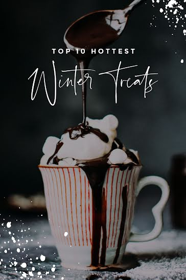 Top 10 Winter Treats - Pinterest Pin Template