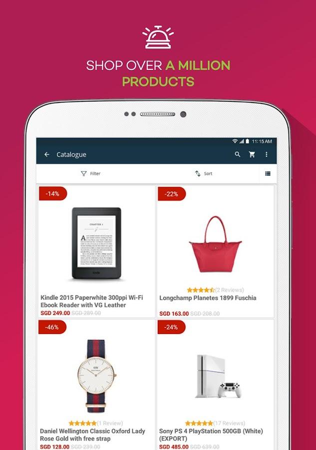 Screenshots of Lazada - Shopping & Deals for iPhone
