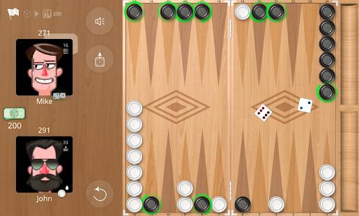 Backgammon Online Ekran Görüntüsü