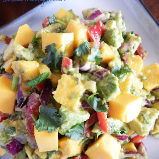 Mango Avocado Salad.