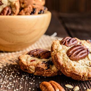 Pecan Cranberry Oatmeal Cookies
