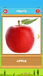 Learn Fruits and Vegetables for PC-Windows 7,8,10 and Mac apk screenshot 2