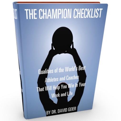 The Champion Checklist