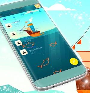 Neon SMS Témata - náhled
