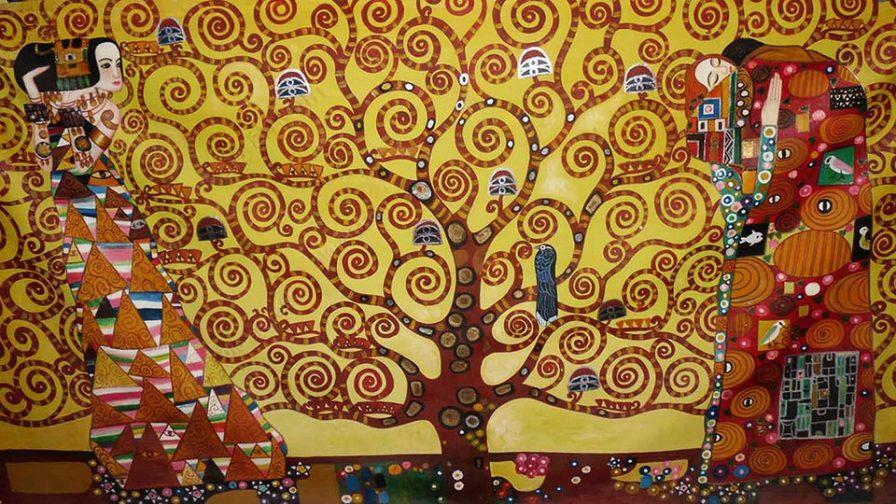 El arbol de la vida de Gustav Klimt