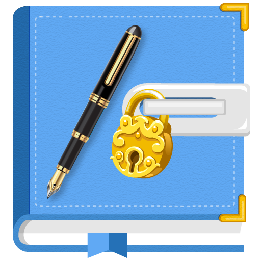 Secret Diary with Lock and Backup