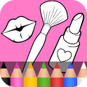Beauty Coloring Book ❤ icon