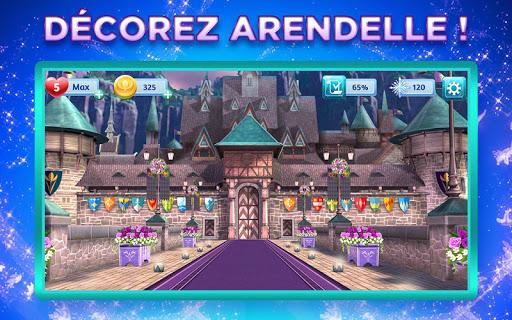 Télécharger Les aventures Disney Frozen : un nouveau match 3 APK MOD (Astuce) screenshots 1