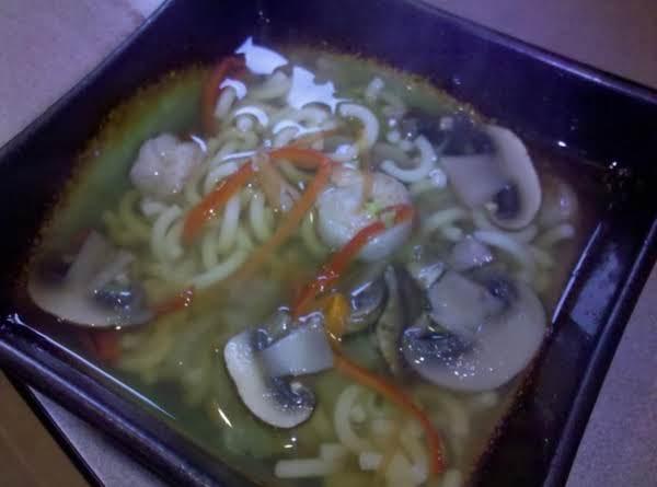 Shrimp And Mushroom Soup Recipe