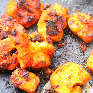 Rustic Caramelized Shallot Fish fry preparation from Coastal Kerala