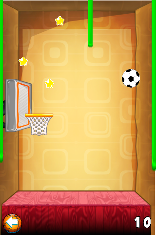 Wall Free Throw Soccer Game- screenshot