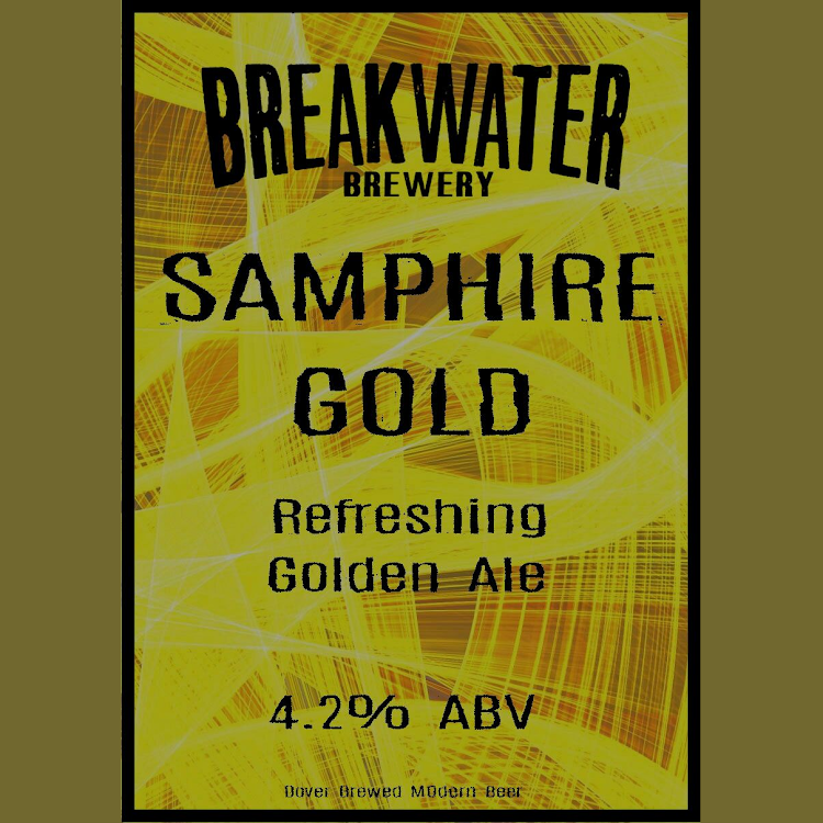 Logo of Breakwater And Taproom Samphire Gold