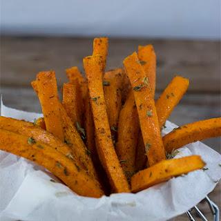Jamaican Jerk Butternut Squash Fries