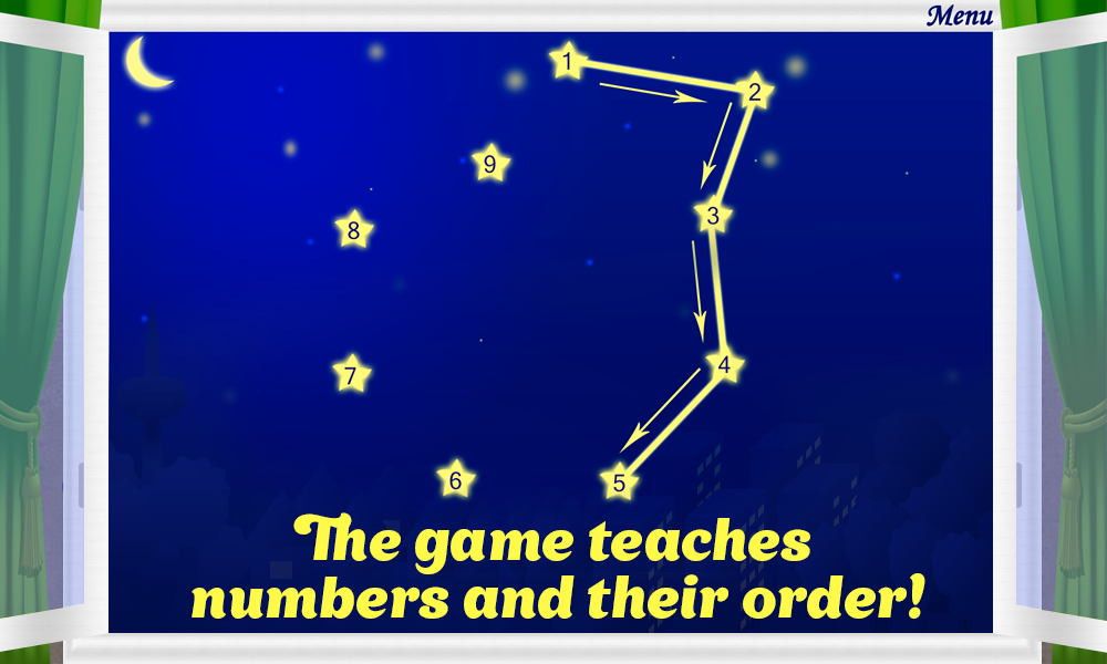 Connect the Dots for Kids Game- screenshot