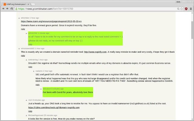 Hacker News Comment Highlighter