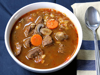 Beef Barley Soup Recipe