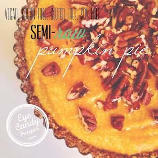 Semi-raw Pumpkin Pie