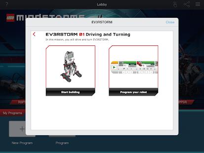LEGO® MINDSTORMS® Programmer Screenshot