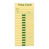 Easy Time Card