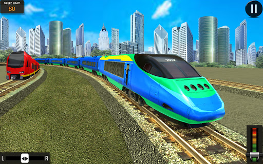 Modern Train Driving Simulator: City Train Games  screenshots 21