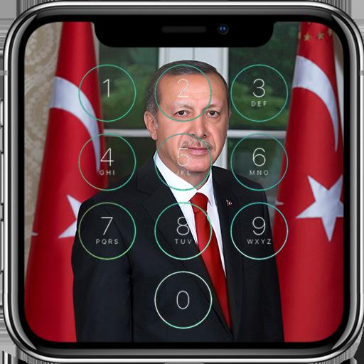 Recep Tayyip Erdoğan Kilit Ekranı