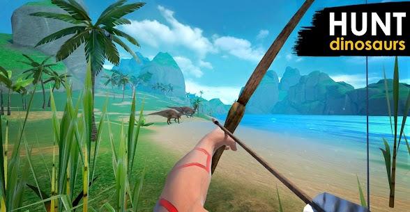 Jurassic Survival Island EVO PRO  Apk Mod (Dinheiro Infinito + Sem Fome e Sede) 2