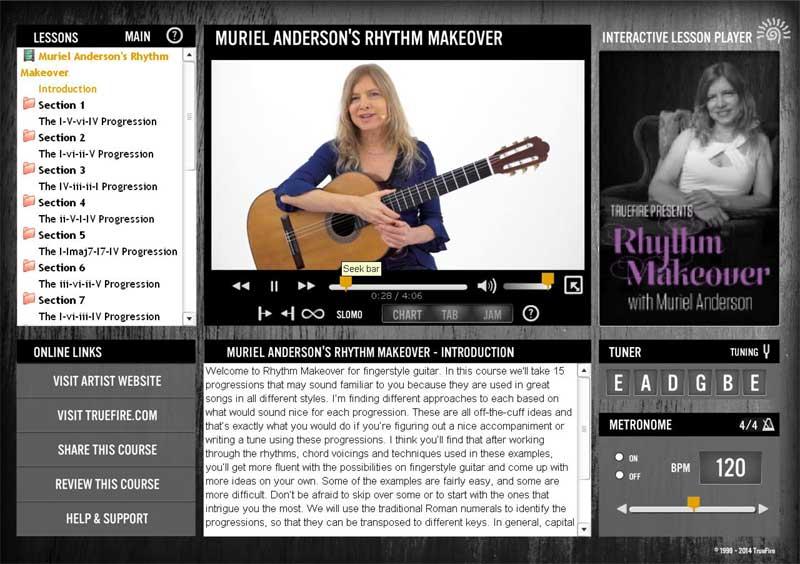 Muriel Anderson - Rhythm Makeover