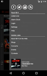 Seattle's Rock 98.9- screenshot thumbnail