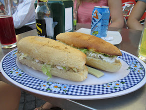 Photo: Bocadillos (sandwiches) were unbelievably common. This particular restaurant specifically sold only sandwiches.