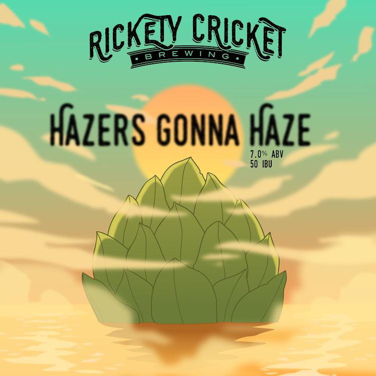 Logo of Rickety Cricket Brewing Hazer's Gonna Haze