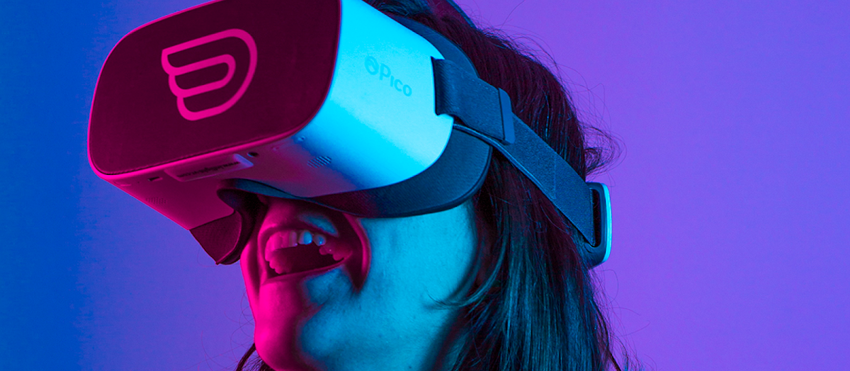 Virtual reality experience at Inflight VR