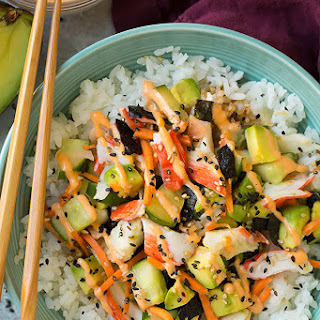 California Roll Sushi Bowls.
