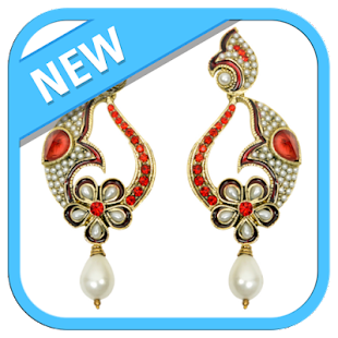 Earrings Jewellery Design - náhled
