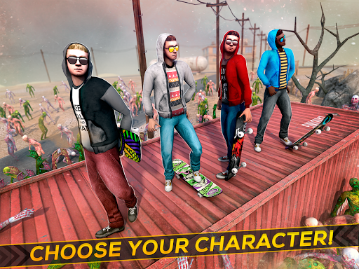 Skateboard Pro Zombie Run 3D 2.11.2 screenshots 6