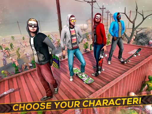 Skateboard Pro Zombie Run 3D 2.11.2 screenshots 6
