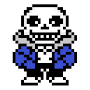 Sans Undertale for ANeko ANeko Skin временно бесплатно