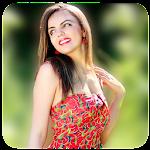 DSLR Blur Background : Square Blur Photo Effect Icon