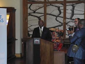 Photo: M. Pacôme MOUBELET BOUBEYA, Ministre de l'Enseignement Supérieur et de la Recherche du Gabon.
