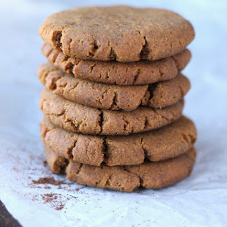 Soft & Chewy Paleo Gingerbread Cookies.