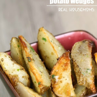 Garlic Ranch Potato Wedges.