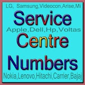 Service Centre Numbers