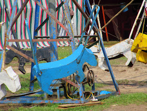 Photo: Year 2 Day 23 - Quaint Wooden Horse on Merry-Go-Round